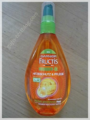 Ganier Fructis Wunder-Öl Hitzeschutz & Pflege