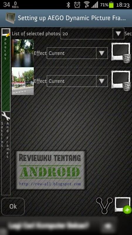 pengaturan foto - widget foto AEGO Changes Photo Frame Widge (rev-all.blogspot.com)