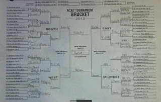march madness 2012 bracket