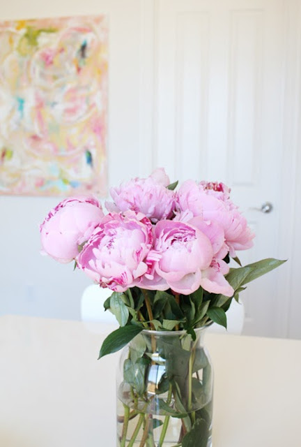 flowers peonies home decor