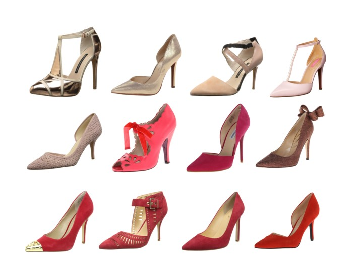 Red Hot Shoes: All styles in set are 20% off on Amazon.com