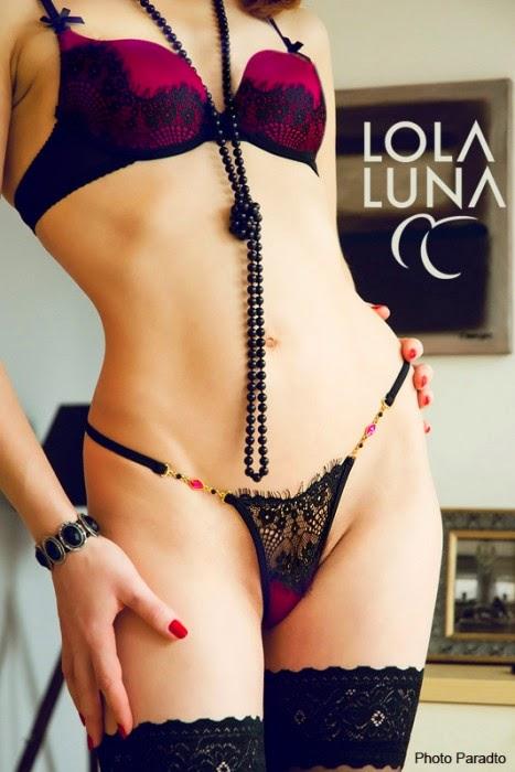 Josephine Bra und Josephine String von Lola Luna