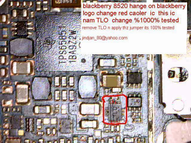 BB 8520 BOOT IC JUMPER