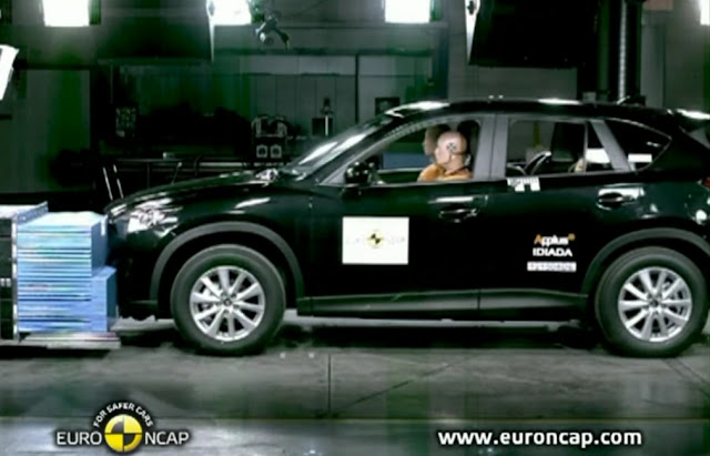 Euro NCAP Mazda CX-5 2012 Crash test