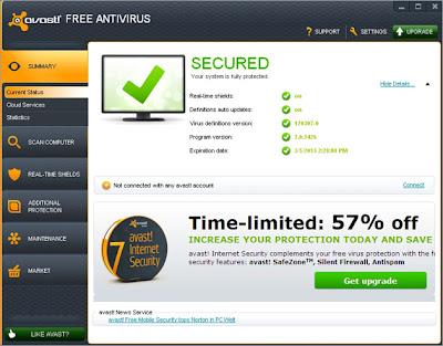 Cloud-light award-winning free virus protection