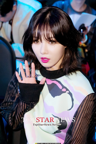 Seoul Fashion Week 4minute Hyuna