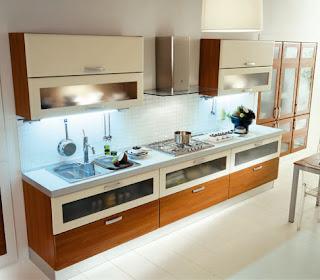 Modern Timber Italian Kitchen Design