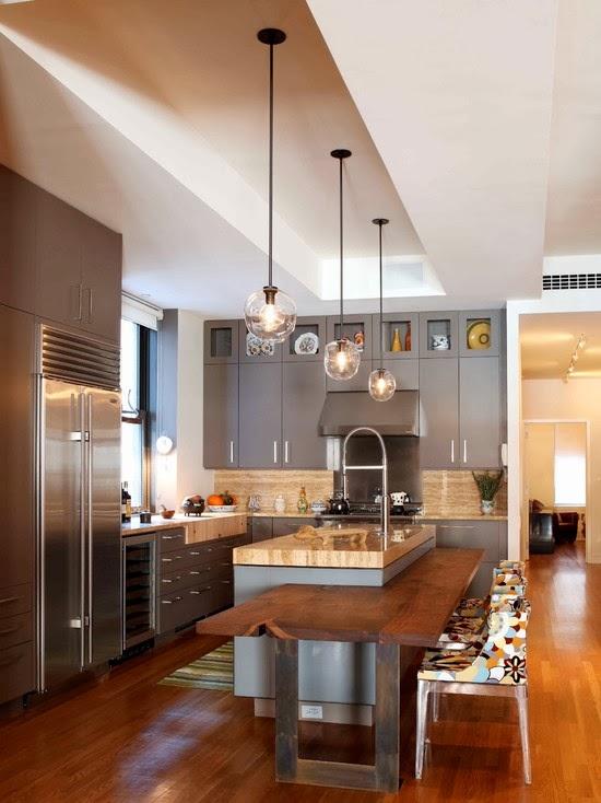 memilih desain interior dapur dan ruang makan desain