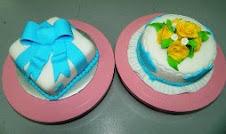 Kelas DIY Kek Fodant - RM500 [ 2 bentuk kek]