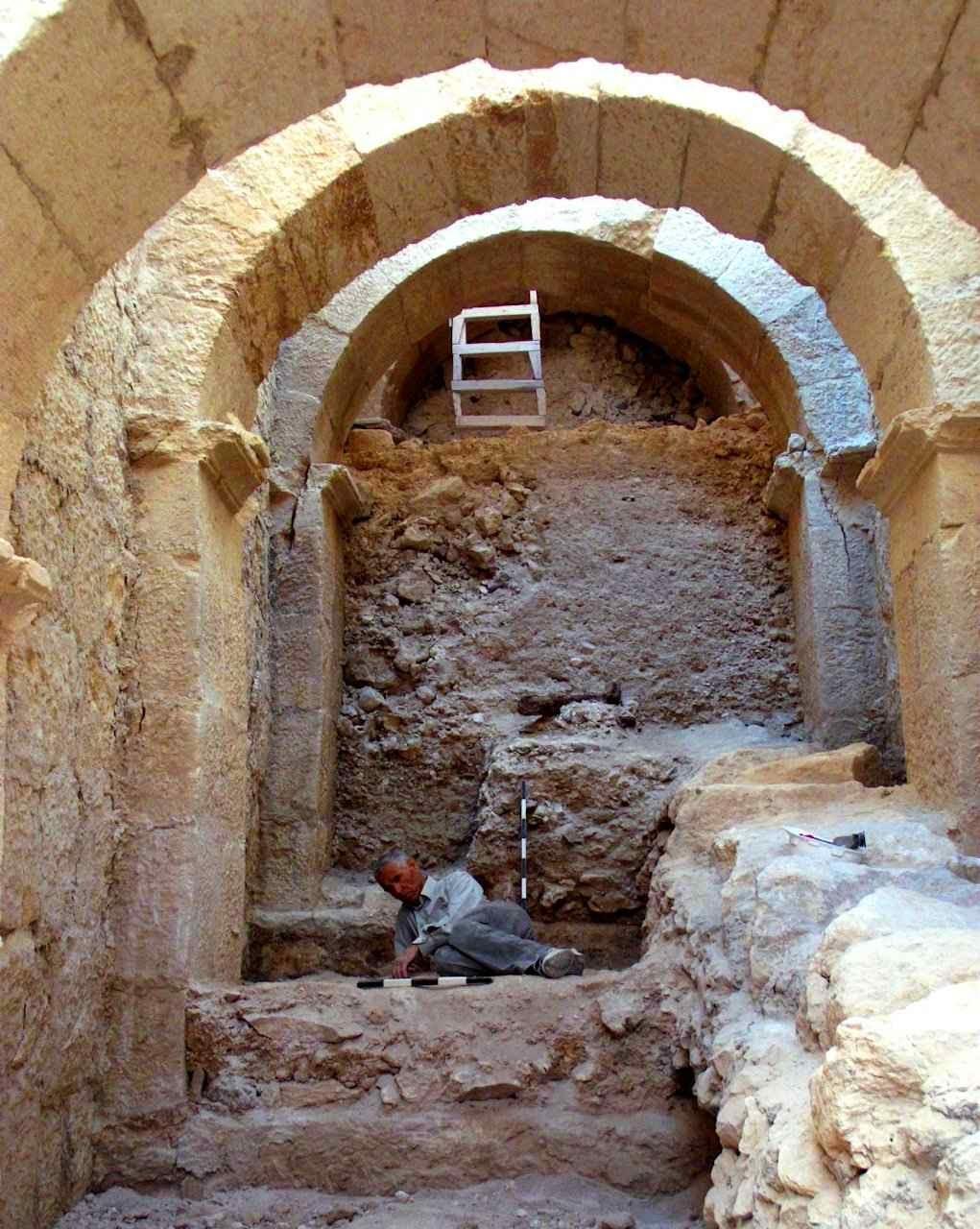 Herodium: a entrada descoberta. Mas a localização do túmulo ainda é mistério.