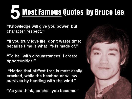 Inspirational Quote by Bruce Lee