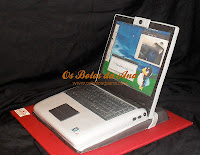 Bolo Portatil Asus, Computer Cakes, Laptop Cakes, Portable Cakes, Bolos decorados Computador, Bolos Artisticos Portatil, Bolos Computadores Portateis
