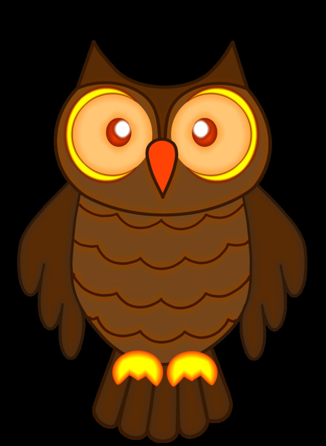 Autumn Owl Clipart   Clipart Kid