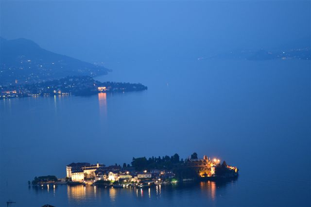 Stresa by night