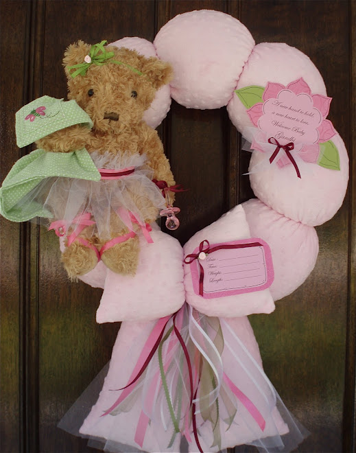 "54. custom ""NoJo Emily"" Baby wreath"