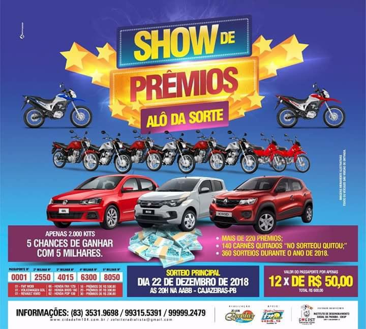 Show de Prêmios - Alô da Sorte!