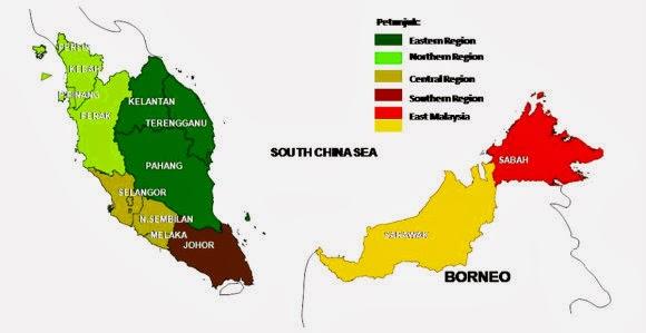 Senarai Tempat Menarik Dan Perlancongan di Seluruh Negeri Malaysia