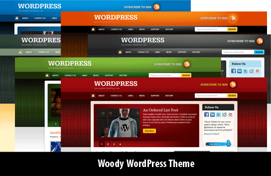 woody wordpress theme free 2012 30 Ücretli Ücretsiz WordPress Teması