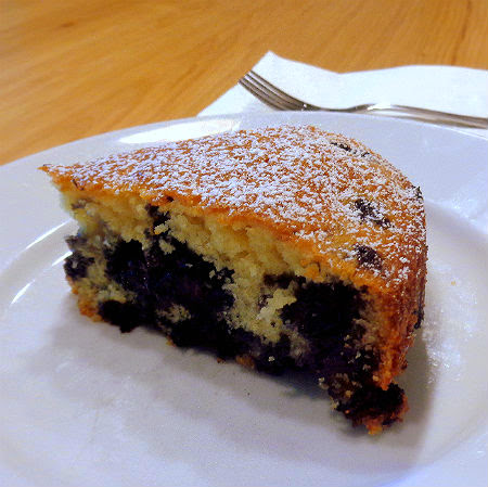 One Perfect Bite: Child's Play - Blueberry- Muffin Cake