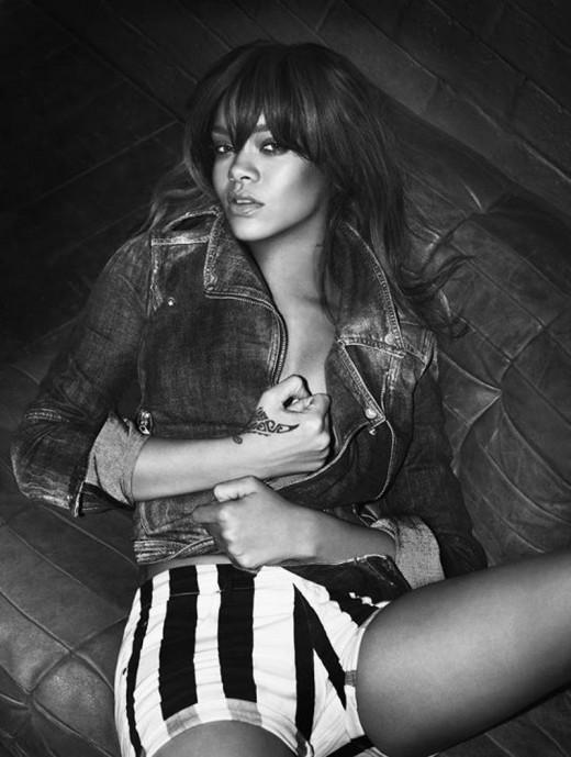 , Rihanna – Armani 2012 Lingerie Photoshoot
