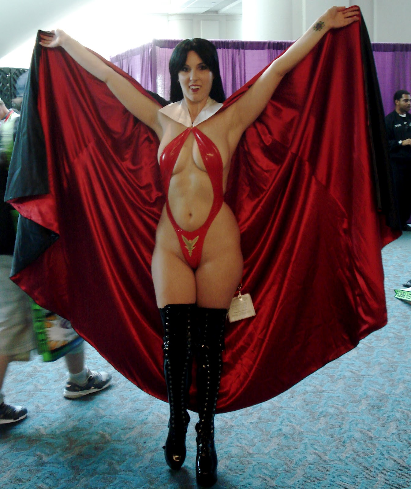 Topless vampirella exposed scenes