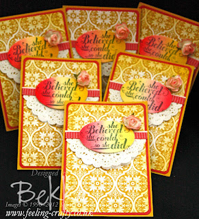 Feel Goods Congratulations Card by Stampin' Up! Demonstrator Bekka Prideaux - check her video on how to make the Ombre Background