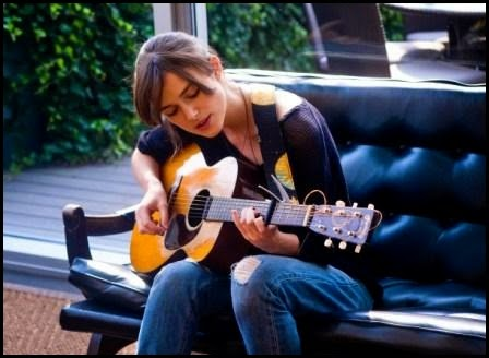 Keira Knightley en Begin Again (John Carney, 2013)