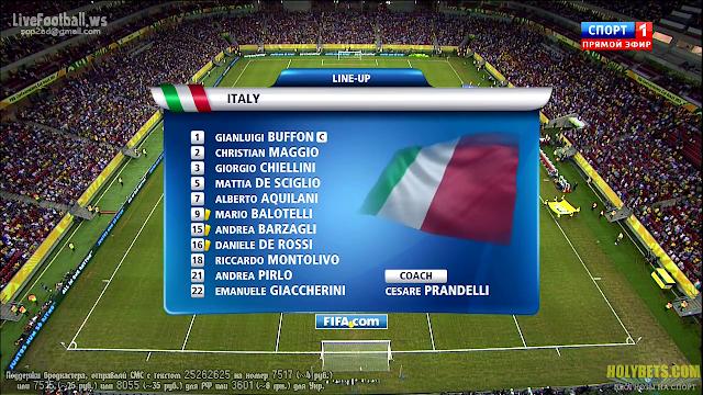 Copa Confederaciones 2013 - Italia vs Japan