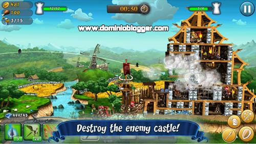 Construye tu propio castillo y defiendelo en CastleStorm Free to Siege