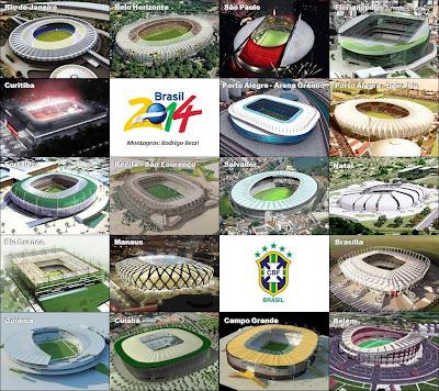 Stadion Piala Dunia Brazil 2014