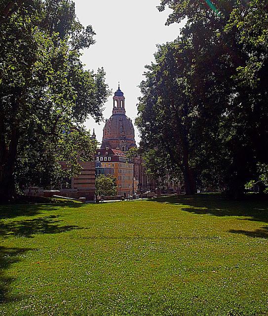 Parkanlage Dresden City
