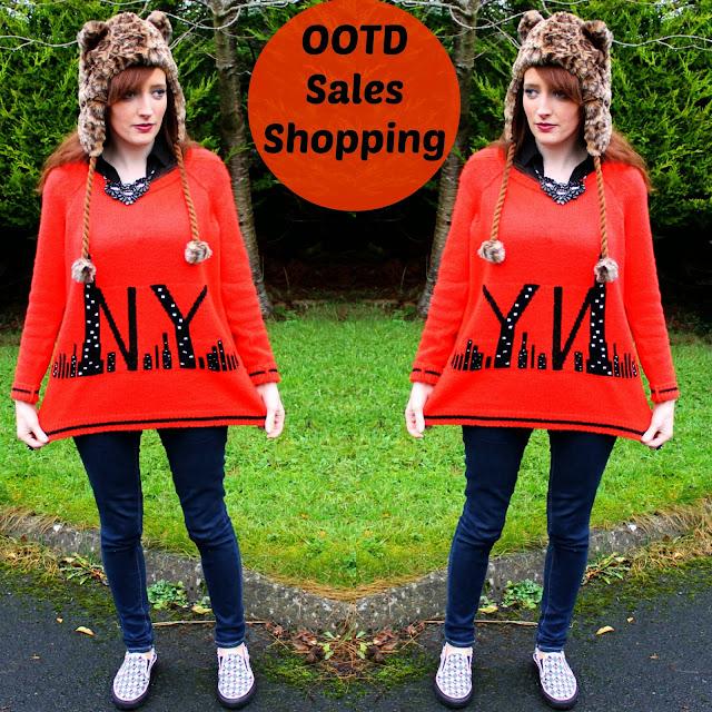 OOTD Fashion Blog Sales Shopping