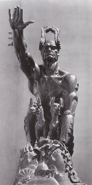 Mussolini Stanislawa Szukalskiego