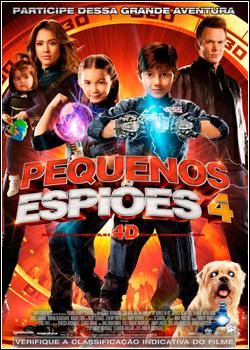 Pequenos Espiões 4 DVD-R