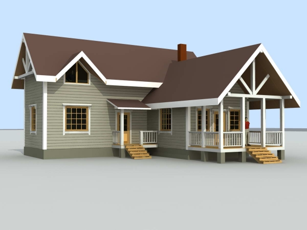 Welcome to 3d cad models 3d houses Home 3d model