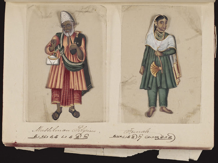 Mussilman pilgrim and Female
