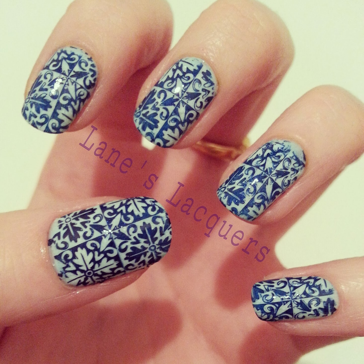 GOT-polish-challenge-blue-manicure