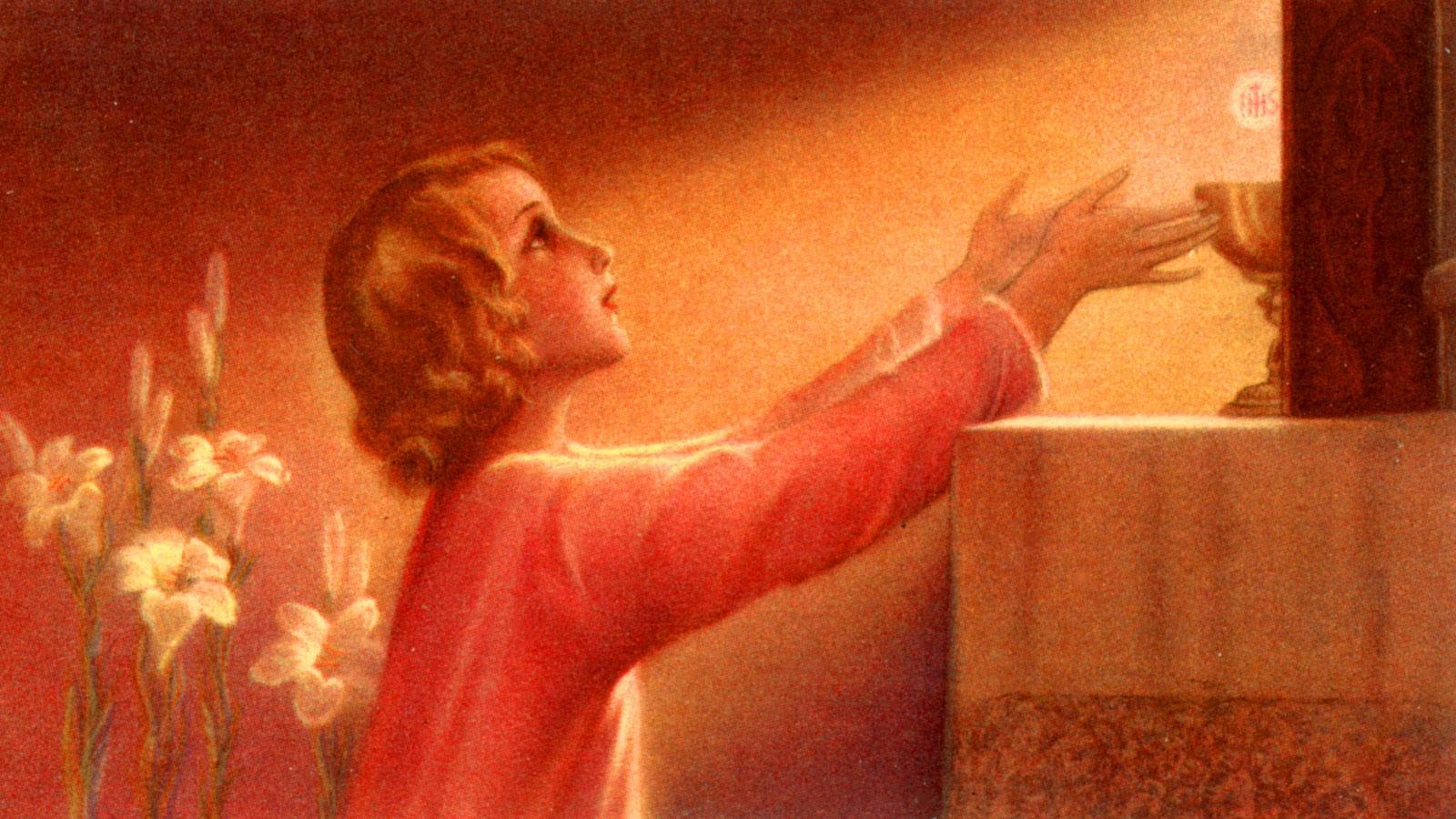 Resultado de imagem para Por que é necessário fazer ação de graças após a comunhão?