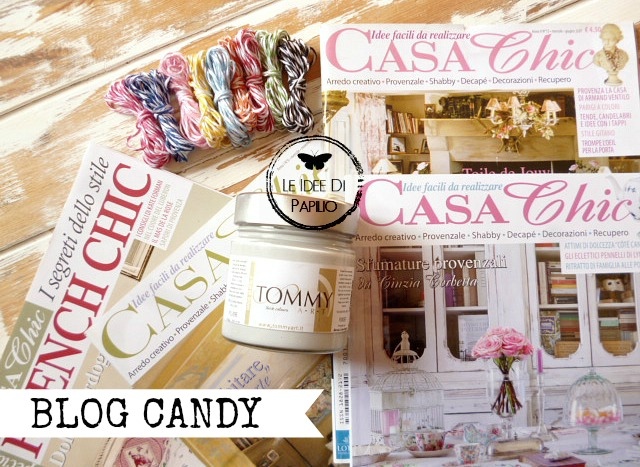 blog candy Le Idee di Papilio