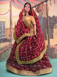 India Barbie Cartoon Image
