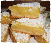 Lemon Bar Recipe with Powdered Sugar