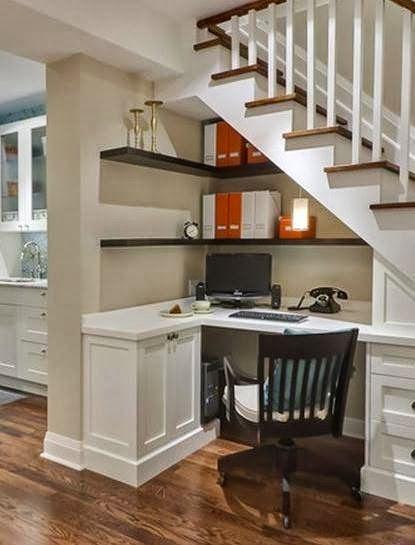 Icono interiorismo 10 soluciones para aprovechar el hueco de la escalera - Huecos de escalera ...