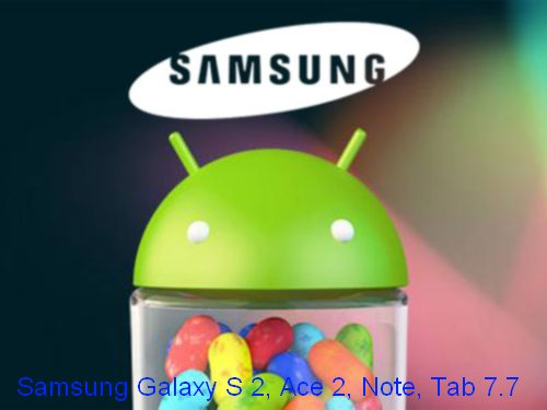 Da marzo 2013 previsti gli aggiornamenti Jelly Bean per il Galaxy S 2, Ace 2, Note e Tab 7.7