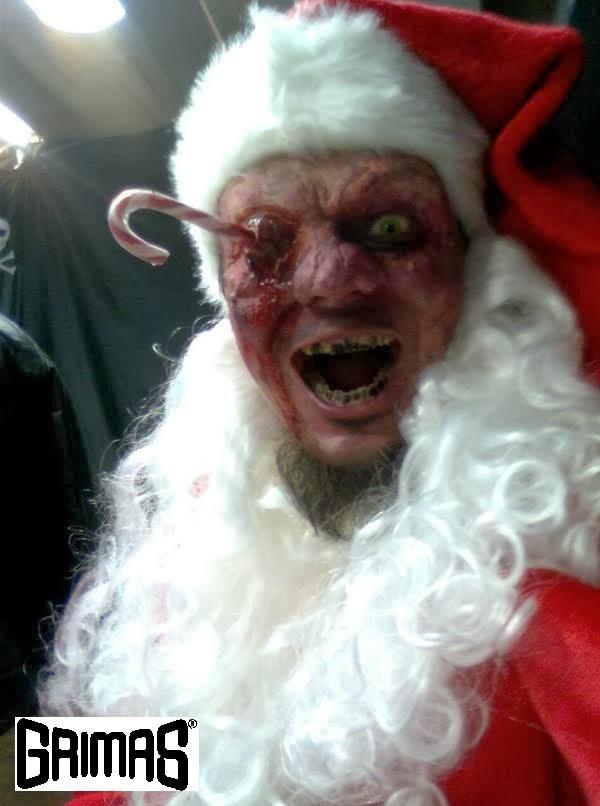 KauhuPukki / HorrorSanta (Ari Savonen) @ Horror-Shop (helsinki). MERRY X-MAS!!!...