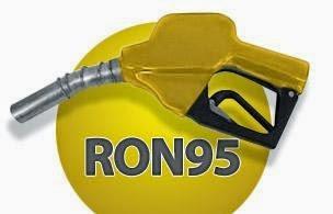 Harga Petrol RON 95 dan Diesel Naik 20 Sen