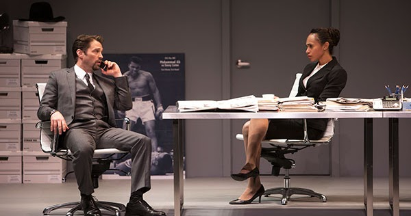 a review of the play race by david mamet David mamet's new play about sex and race, currently receiving a vigorous broadway premiere under the author's direction, reprises a familiar mamet theme: betrayal, especially by women.