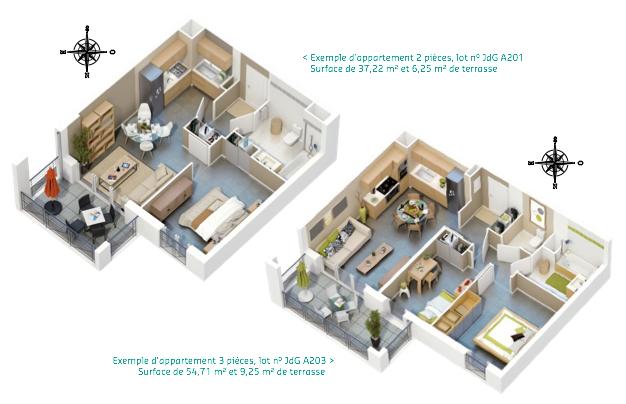 programme neuf toulon un co quartier facile vivre. Black Bedroom Furniture Sets. Home Design Ideas