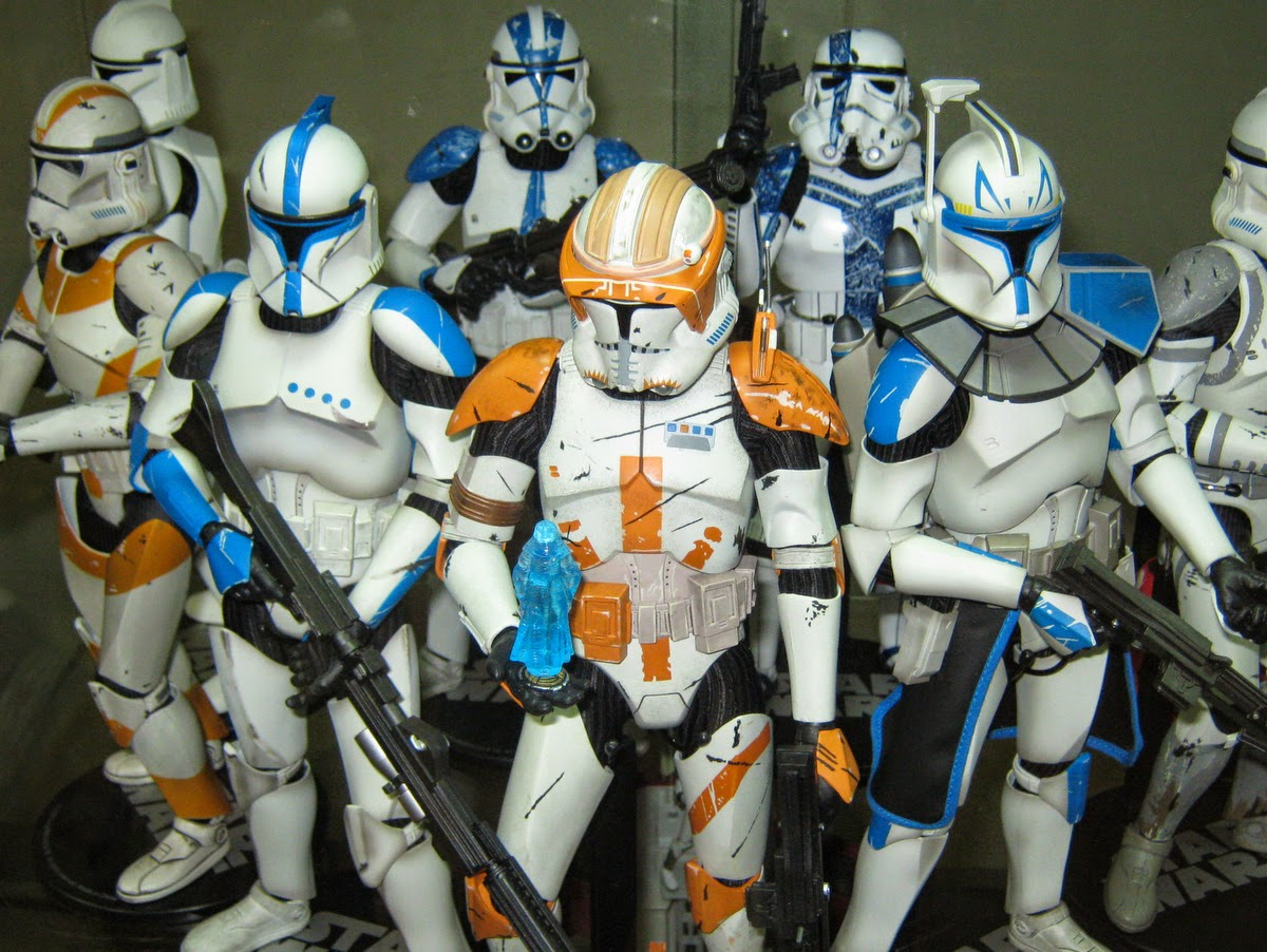 clone trooper sideshow