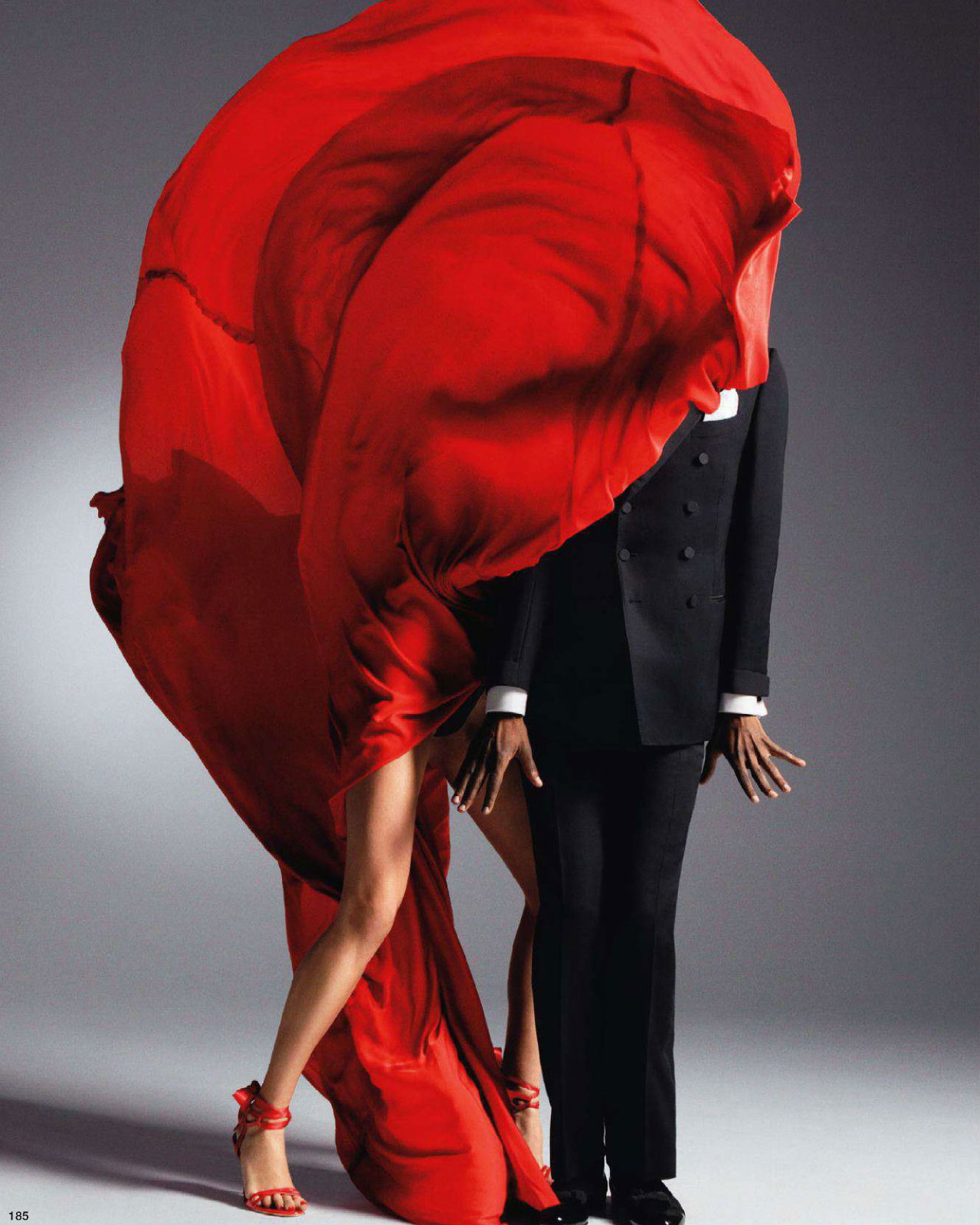 Lanvin by Alber Elbaz dress in Vogue Nippon March 2011 via www.fashionedbylove.co.uk