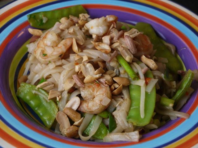 Clockwatching Tart: Shrimp Pad Thai